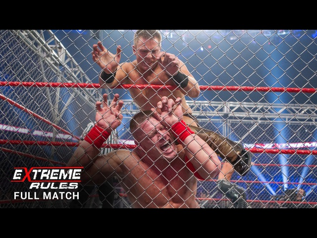 WWE Title Triple Threat Steel Cage Match: Extreme Rules 2011 (Full Match - WWE Network Exclusive)