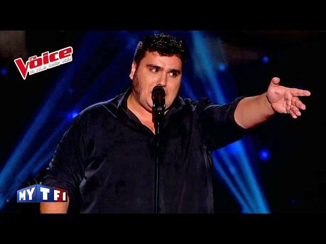 Jacques Brel - Ces gens là | Yoann Launay | The Voice France 2015 | Blind Audition