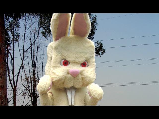 Bad Bunny (Heavy Metal Easter Bunny) Radioactive Chicken Heads music video