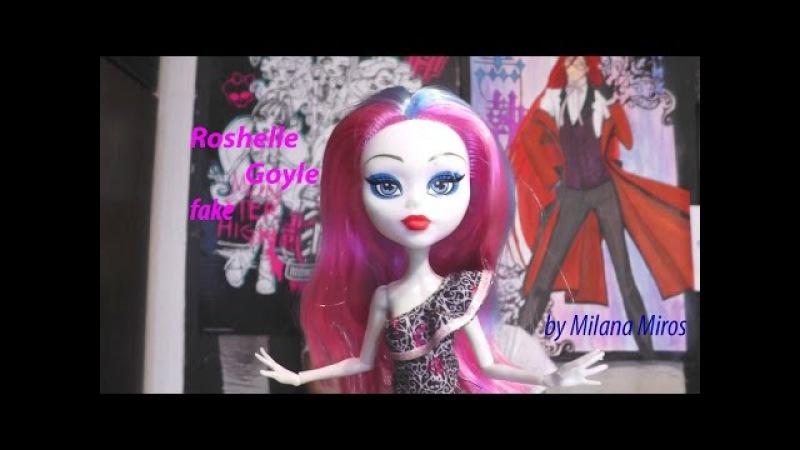 Белая подделка Рошель Гойл/Roshelle Goyle и МК для волос ваших куколок =^.^=