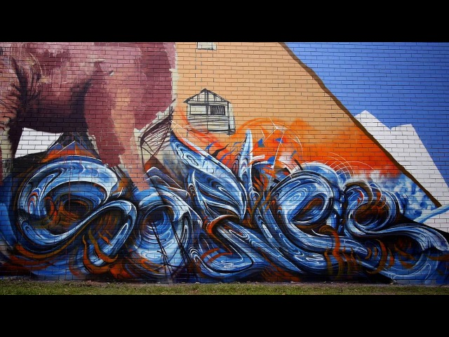 Adnate, Guido Van Helten, Askew, Sofles, DVate, Kid Paris - Half Stars Festival