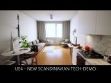 Unreal Engine 4 - New Scandinavian Tech Demo 4K