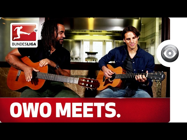 Smart guitar Keeper Yann Sommer - Owo meets the Borussia Mönchengladbach International