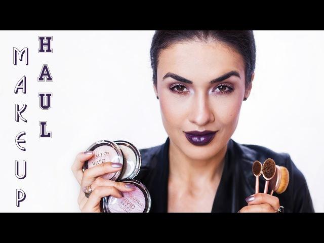 ✪ MakeUP HAUL | ПОКУПКИ с BeautyHome ★ НОВИНКИ MakeUP Revolution и Catrice