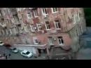 Как падают обычные дома в России.Вот это да!