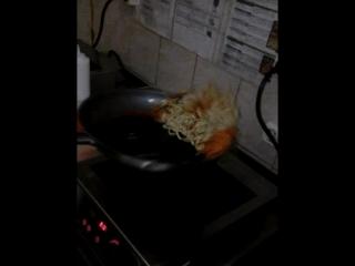 мои первые дни на кухне