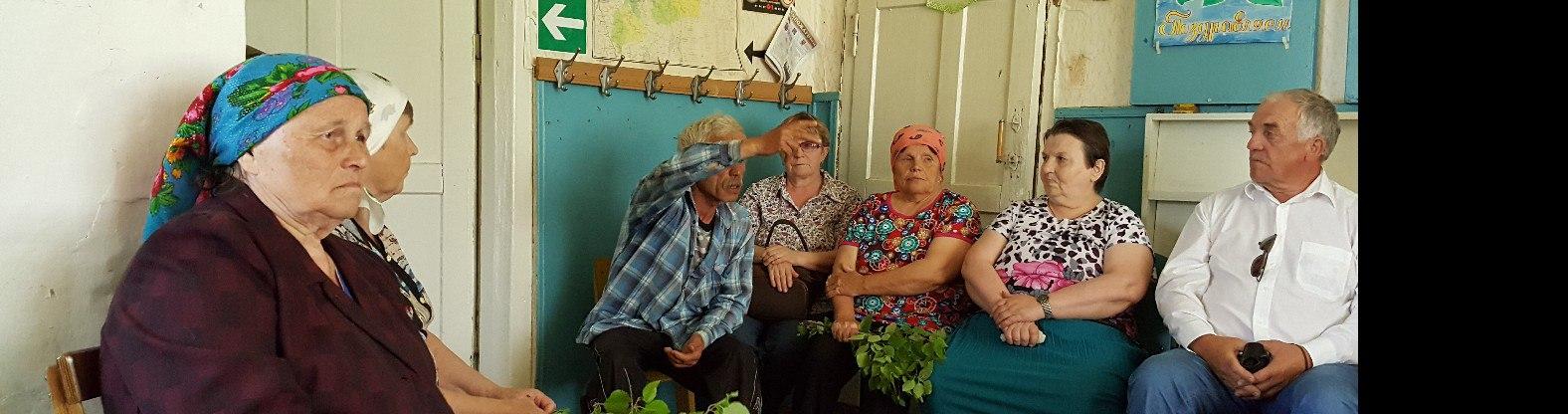Руководитель администрации района Николай Жилин встретился с жителями д. Выльгорт МО СП «Пучкома»