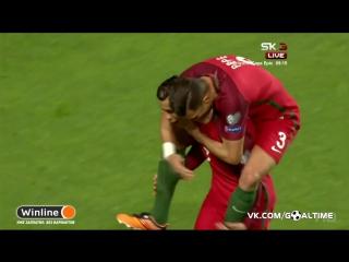 Португалия - Венгрия 3:0. Роналду (дубль)