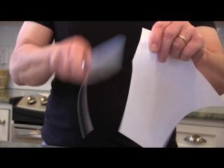 Нож с бритвенной заточкой