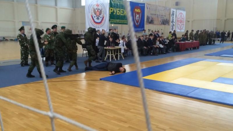 Стигийские совы на открытии турнира по каратэ