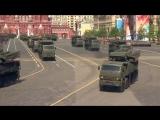 Военная мощь страны: Новейшее оружие России на параде Красной площади.