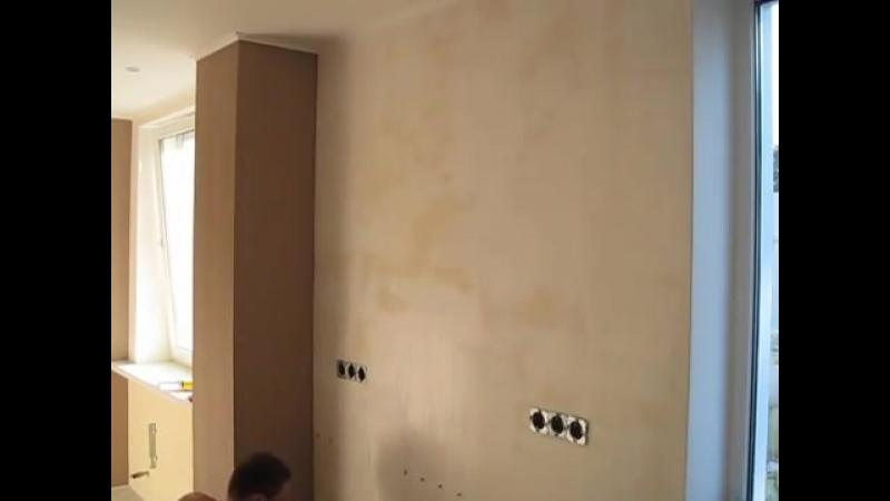как правильно клеить Флизелиновые обои Ремонт квартиры своими руками смотреть онлайн без регистрации