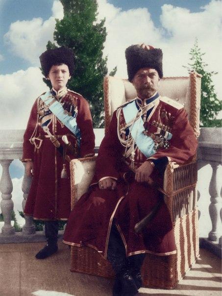 Алексей и Николай — Ливадийский дворец