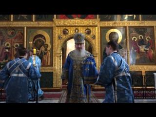 Проповедь митрополита в день Благовещения