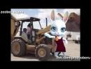 зомби зайка трактористка