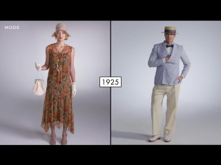 100 лет моды_ Женщины vs. Мужчин