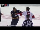 Alex Petrovic vs Evander Kane Feb 9, 2016