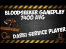 Bloodseeker Gameplay 7400 AVG Darki Service Player