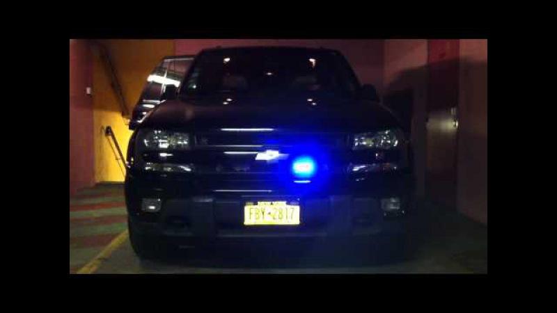 NEW TRAILBLAZER police flashers