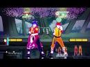 Just Dance 2017 Kung Fu Fighting 2 players 5 stars superstar Wii u