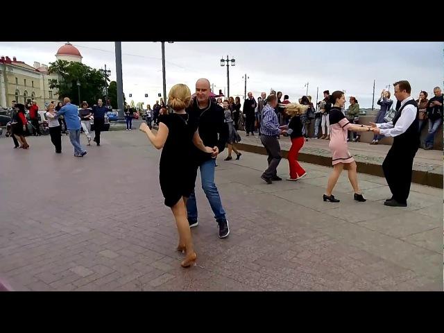 Джайв Бальные танцы 16 июля 2017 года на Стрелке В О