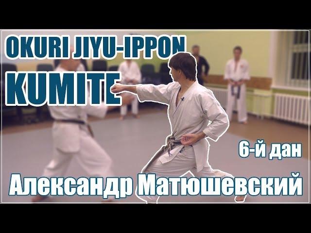 Okuri Jiyu Ippon Kumite с А. Матюшевским (6-дан)