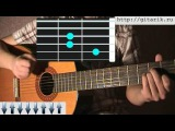 Валерий Залкин - Одинокая Ветка Сирени урок на гитаре