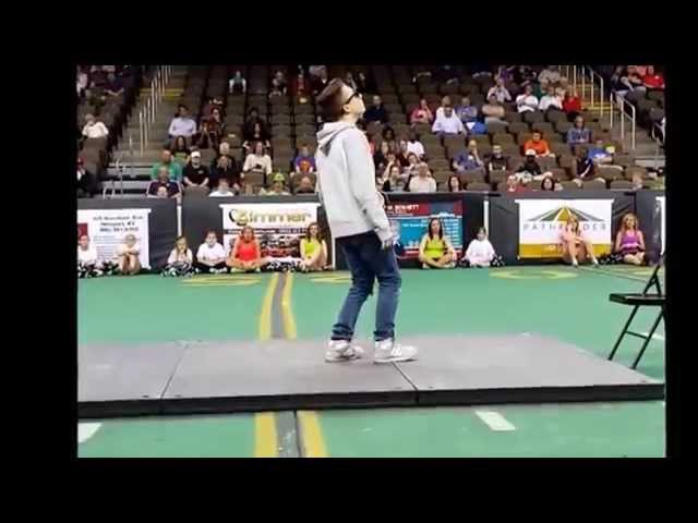 Noster The Dancer | Halftime Show | Dubstep | @ Arena Football Game