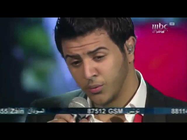 Arab Idol Ep23 У парня погибла девушка и он поет для нее с переводом