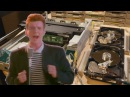 The Floppotron: Rick Astley - Never Gonna Give You Up