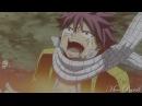 Fairy Tail Нацу Люси Грей Твоя девочка ушла Грустный аниме клип