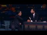 Colbert & Urgant. Friendship