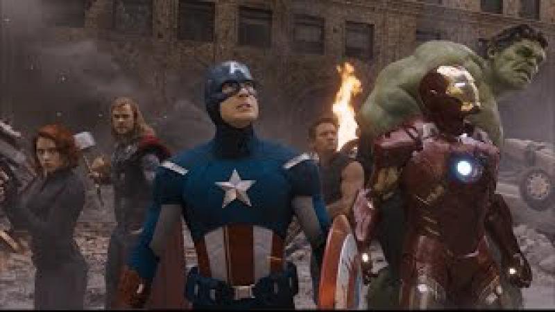 Avante Vingadores (luta contra os Chitauri) DUBLADO - Os Vingadores (2012)