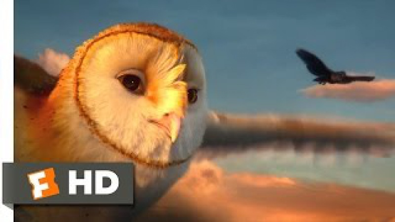 Legend of the Guardians (2010) - Captured by Crows Scene (5/10) | Movieclips