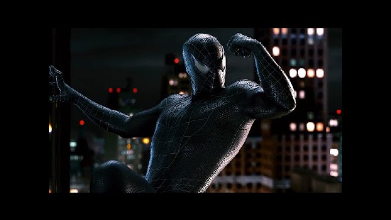 Peter Parker se apega ao traje Negro DUBLADO HD | Homem Aranha 3 (2007)