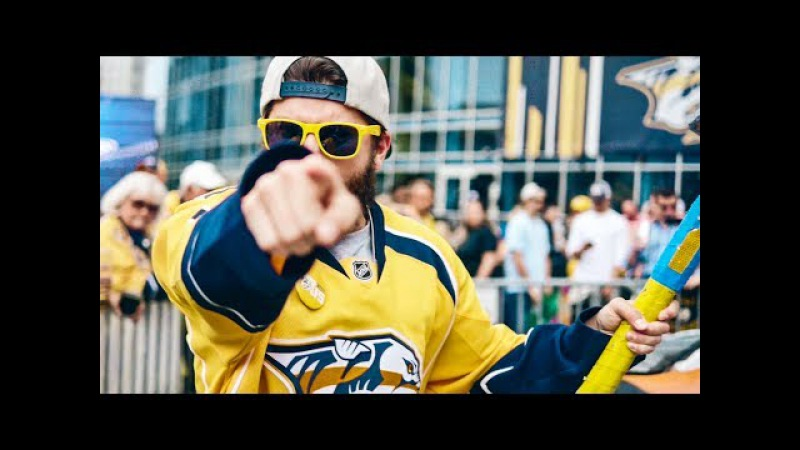 Nashville Predators Win 2017 NHL Western Conference   Best Fans In The League