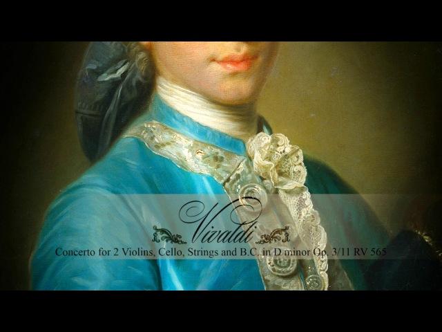 A. VIVALDI Concerto for 2 Violins and Cello in D minor Op. 311 RV 565, Akademie für Alte Musik