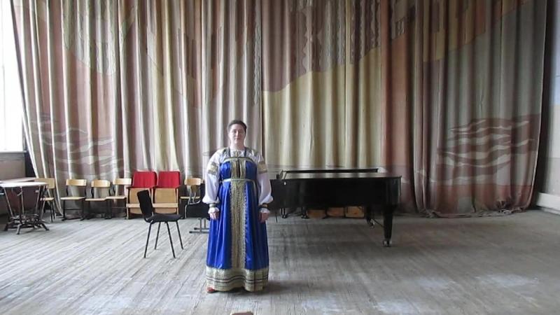 Оплакивание берёзки, Когда говорят о Росии Муз. Е. Щекалёва, сл. Татьяничевой