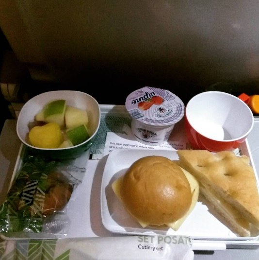Рейс авиакомпании Alitalia - Москва - Рим - Мадрид