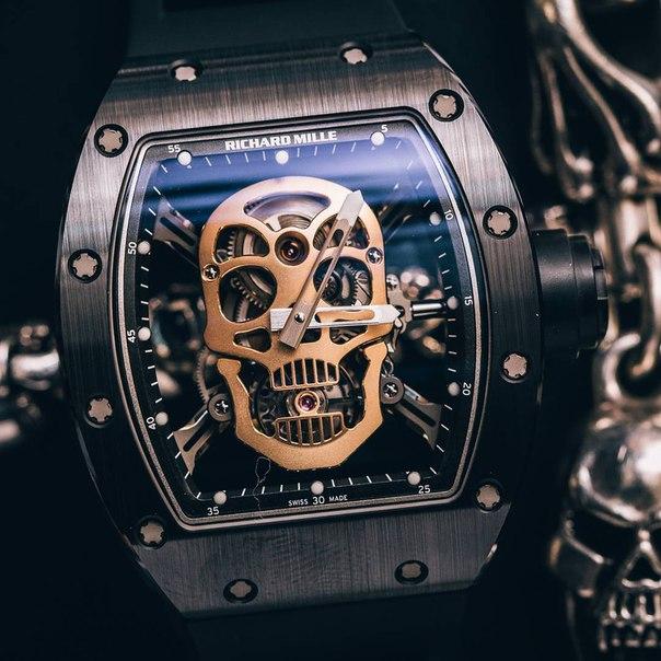 💀Часы с дерзким дизайном - Richard Mille Skull!💀 ➡ http://fun-4shoppin