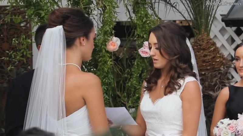 Lesbian Wedding: Alanna Felicity ♀♥♀