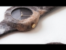 The Companion Collection A Watch Made of Cat Dog or Animal Fur