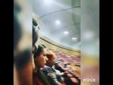 В ожидании начало концерта Натальи Орейро#7декабря2016#москва#крокусситихол#концертнатальиорейро