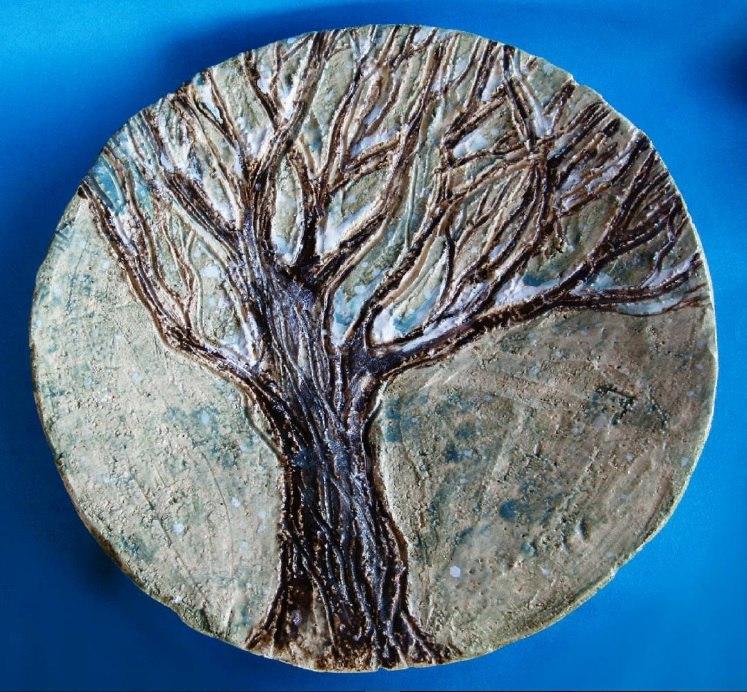 блюдо «дерево»