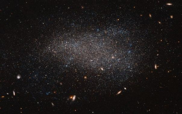 Карликовая неправильная галактика NGC 4789A