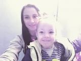 я и моя любимая племянница. ❤ 🌷 🌹 💐 🌸
