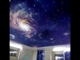 Натяжной потолок Космическое небо