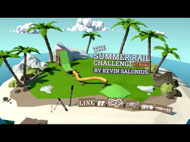 The Summer Rail Challenge 2017 by Kevin Salonius - Win LINE Skis