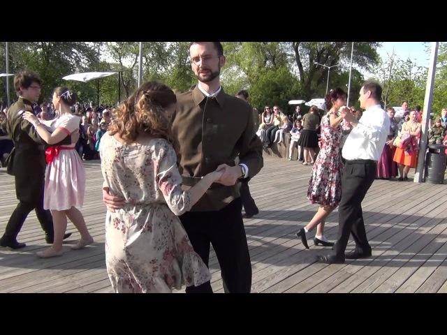 Рио Рита в Парке им.Горького, День Победы, www.rpu-dance.ru