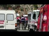 Крупное ДТП наюго-западе Турции нагорной дороге разбился автобус сместными туристами